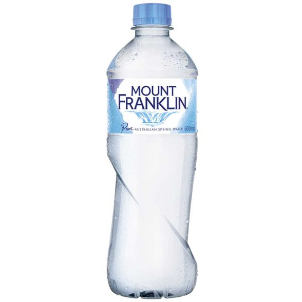 Mount Franklin Water (600 ml)